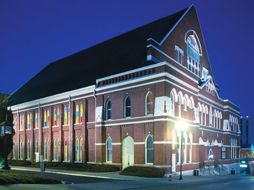 The Ryman Auditorium - Nashville Tennessee