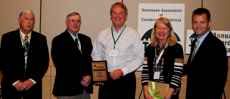 2015 Conservation Farmer of the Year, Mike & Susan Clark, Knox County