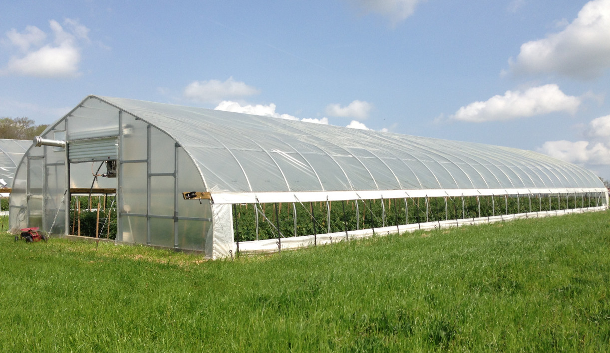 High Tunnel in Bedford County cost-shared thru NRCS EQIP