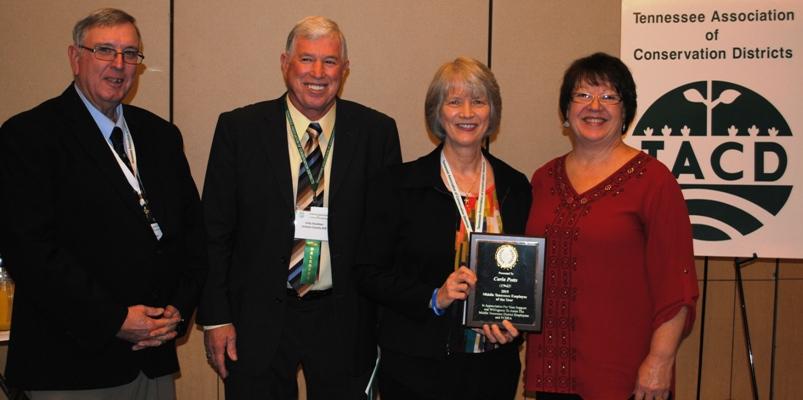 2015 TCDEA Employee of the Year, Carla Potts, Giles County SCD